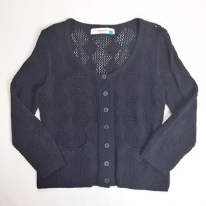 Anthropologie Sparrow Open Knit Cardigan